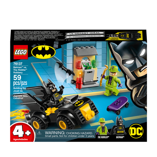 LEGO DC Batman Batman vs. The Riddler Robbery - 76137