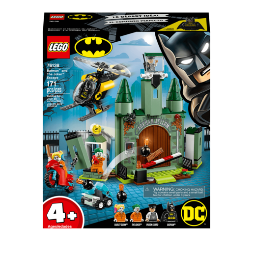 LEGO DC Batman Batman and The Joker Escape - 76138