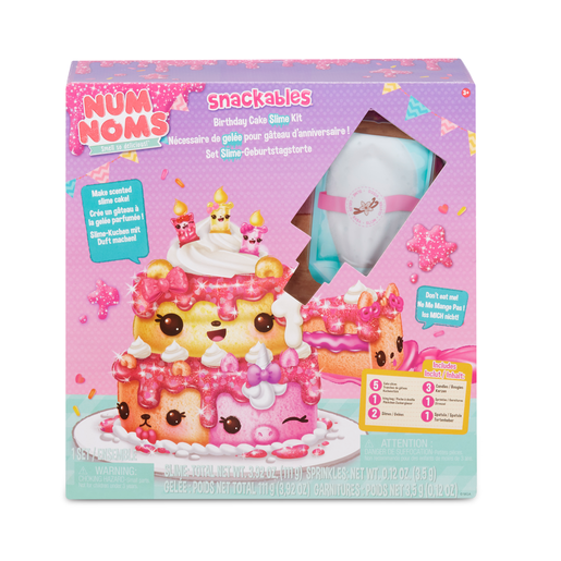 Num Noms Snackables Birthday Cake Slime Kit (Styles Vary)
