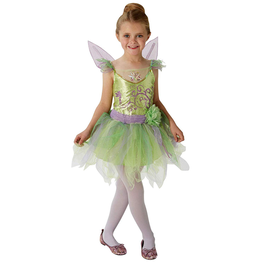 Disney Tinkerbell Fancy Dress Costume 3-4 Years Old