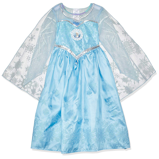 Disney Frozen Elsa Fancy Dress Costume 5-6 Years Old