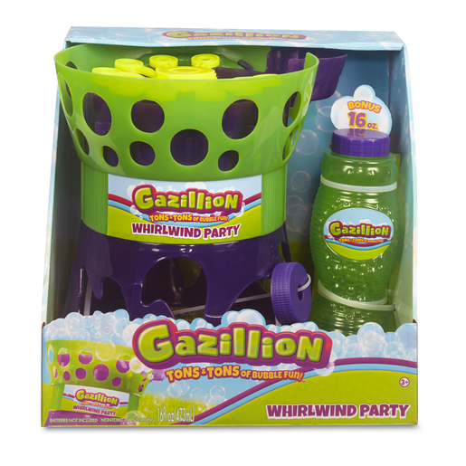 Gazillion Bubbles Whirlwind Party Machine