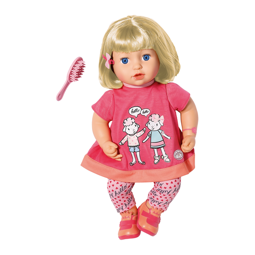 Baby Annabell Talk Back Julia 43cm Doll