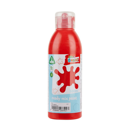 Early Learning Centre Bits & Basics Ready Mix Paint 300ml - Red
