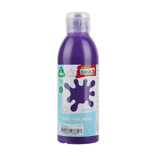 Early Learning Centre Bits & Basics Ready Mix Paint 300ml - Purple