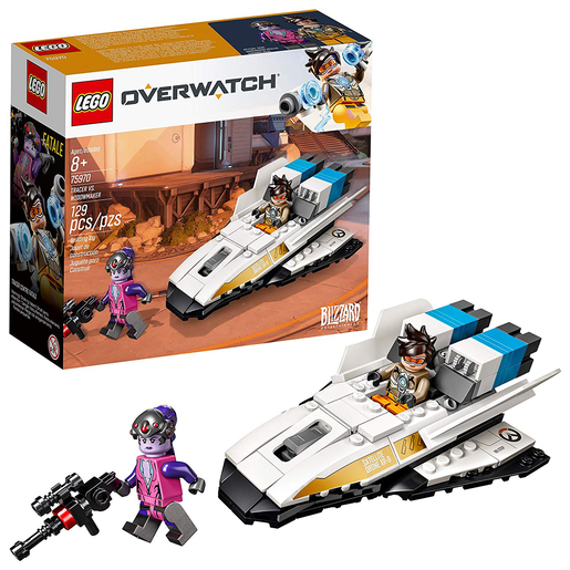 LEGO Overwatch Tracer and Widowmaker Building Kit -75970