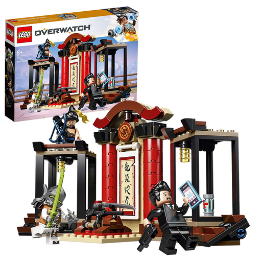 LEGO Overwatch Hanzo and Genji Building Kit - 75971