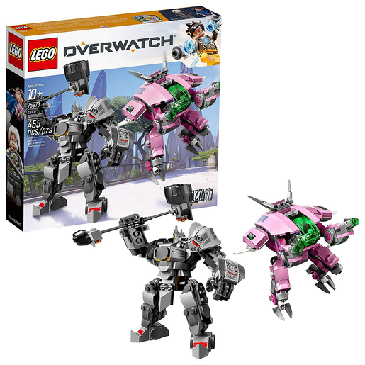 LEGO Overwatch D VA and Reinhardt -75973