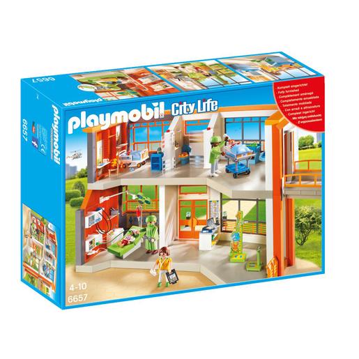 Playmobil 6657 City Life Furnished Childrens Hospital