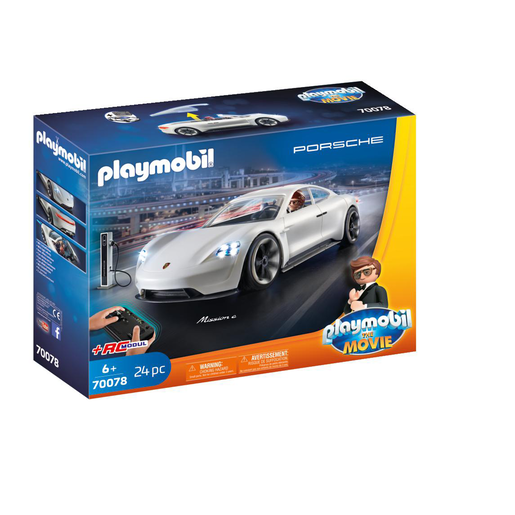 Playmobil 70078 Playmobil The Movie   Rex Dashers Porsche Mission E