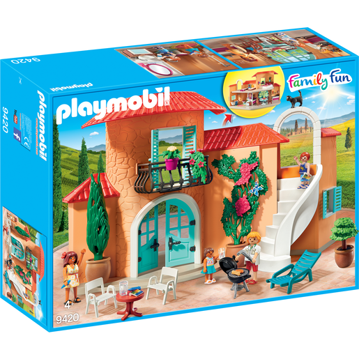 Playmobil 9420 Family Fun Summer Villa with Balcony