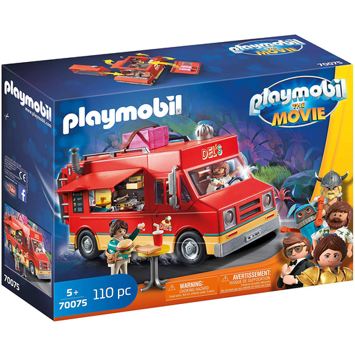 Playmobil 70075 Movie Dels Food Truck