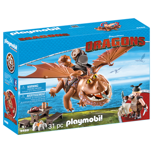 Playmobil: DreamWorks Dragons 9460 Fishlegs And Meatlug