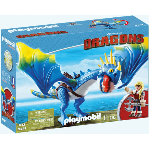 Playmobil: DreamWorks Dragons 9247 Astrid and Stormfly