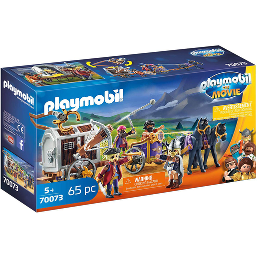 Playmobil 70073 Movie Charlie And Wagon