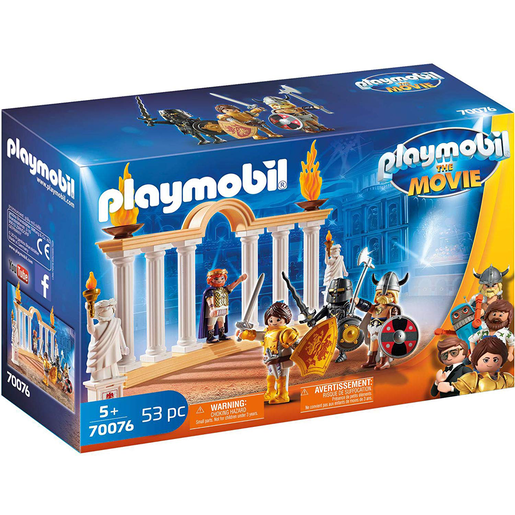 Playmobil 70076 Movie Emperor Maximus