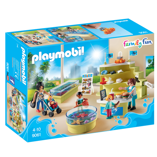 Playmobil 9061 Family Fun Aquarium Shop