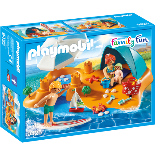 Playmobil 9425 Family Fun Family At The Beach