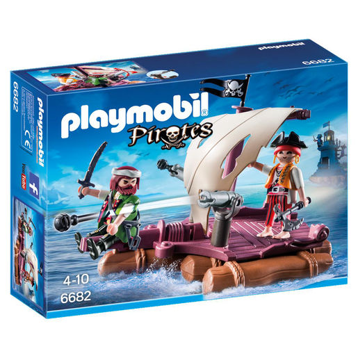 Playmobil 6682 Pirates Floating Pirate Raft