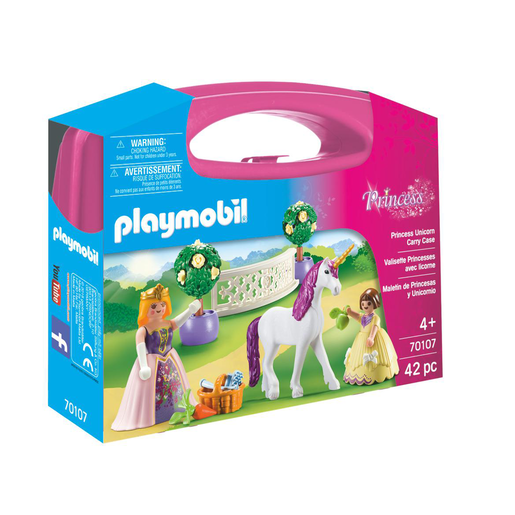 Playmobil 70107 Princess Unicorn Carry Case