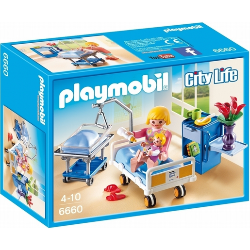 Playmobil 6660 City Life Maternity Room