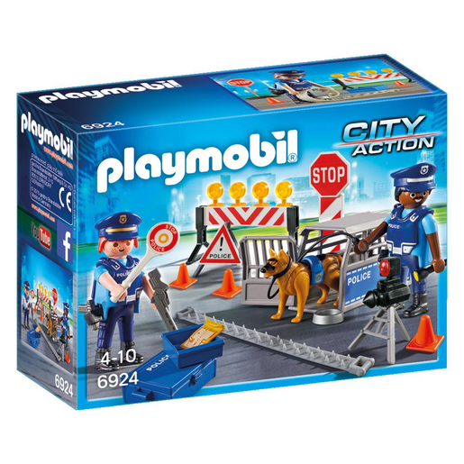 Playmobil 6924 City Action Police Roadblock