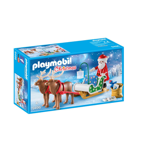 Playmobil 9496 Christmas Santas Sleigh With Reindeer