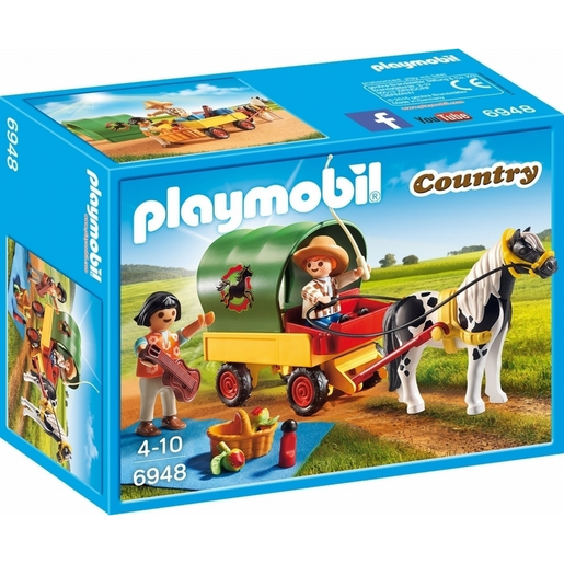 Playmobil 6948 Country Picnic with Pony Wagon
