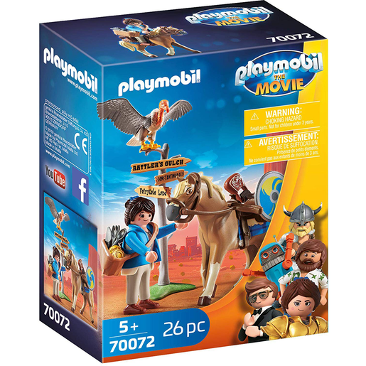 Playmobil 70072 Movie Marla And Horse