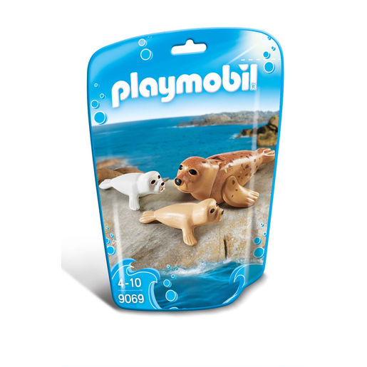 Playmobil 9069 Family Fun Seal with Pups