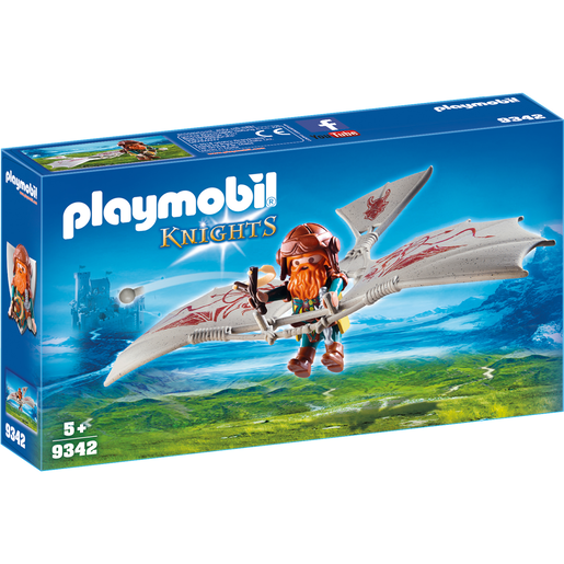 Playmobil 9342 Knights Dwarf Flyer