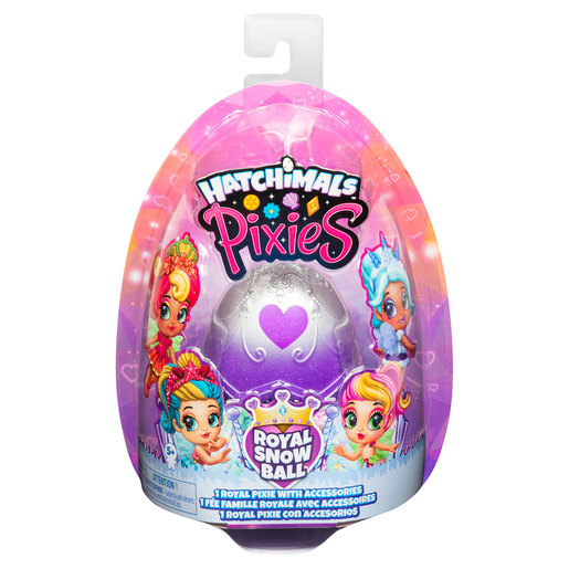 Hatchimals Pixies - Royal Snowball with Accessories