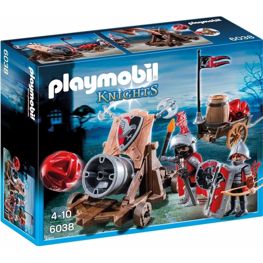 Playmobil 6038 Knights Hawk Knights' Battle Cannon