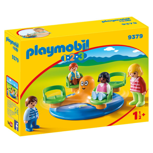 Playmobil 9379 1.2.3 Children's Carousel
