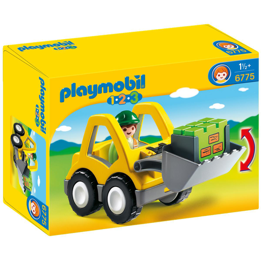 Playmobil 6775 1.2.3 Excavator