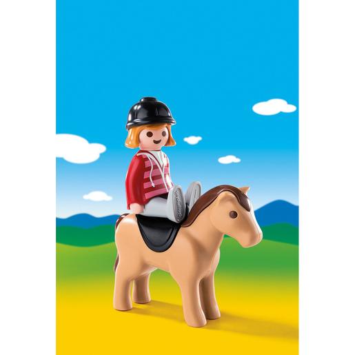 Playmobil 6973 1.2.3 Equestrian Horse