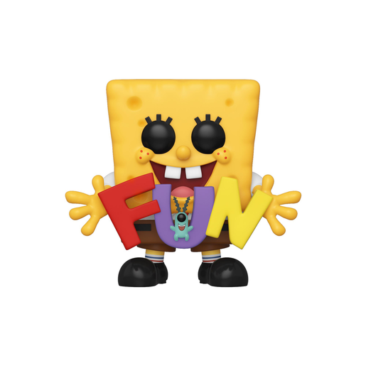 Funko Pop! Animation: Spongebob Squarepants - Spongebob and Plankton Fun