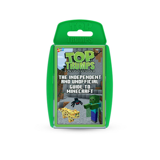 Independent and Unofficial Guide to Minecraft Top Trumps Card Game