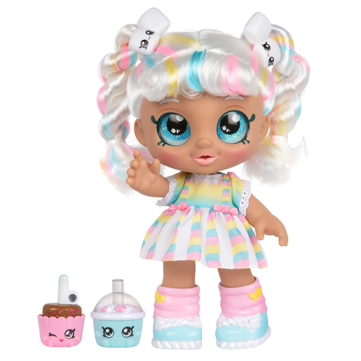 Kindi Kids Snack Time Friends Doll - Marshamello
