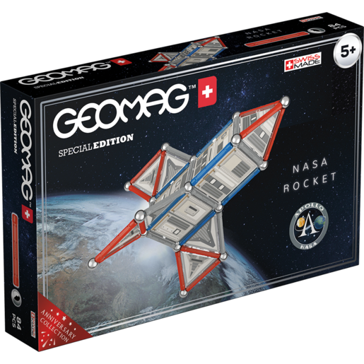 Geomag Special Edition - NASA Rocket