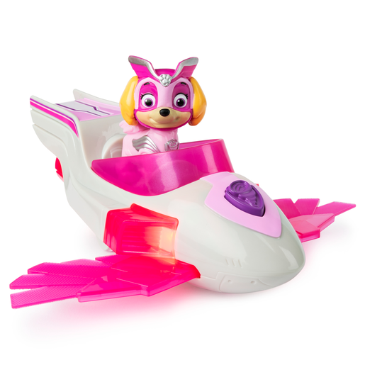 Paw Patrol Mighty Pups Super Pups Deluxe Vehicle - Skye