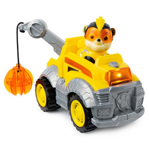 Paw Patrol Mighty Pups Super Pups Deluxe Vehicle - Rubble