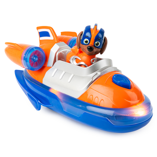 Paw Patrol Mighty Pups Super Pups Deluxe Vehicle - Zuma