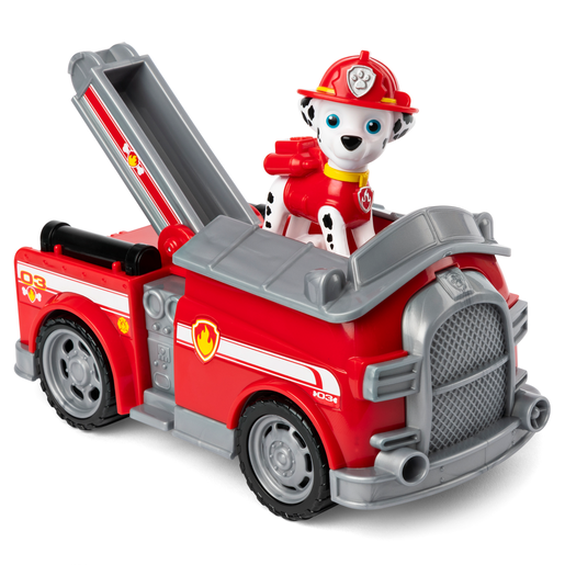 Paw Patrol Vehicle and Figure - Marshall's Fire Engine