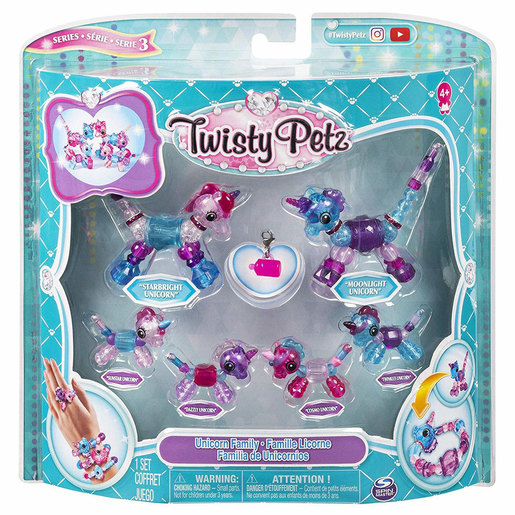 Twisty Petz Unicorn Family Pack Series 3