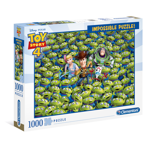 Clementoni - Toy Story 4 Impossible Puzzle