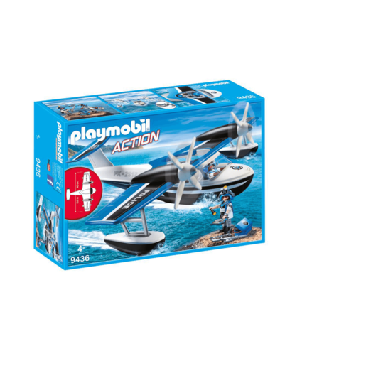 Playmobil City Action Floating Police Seaplane - 9436