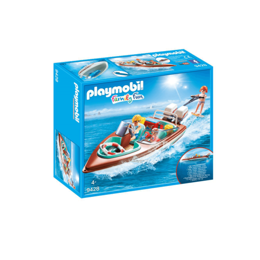 Playmobil Family Fun Floating Speedboat - 9428