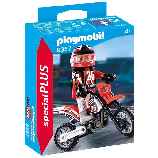 Playmobil 9357 Special Plus Motorcross Rider Figure
