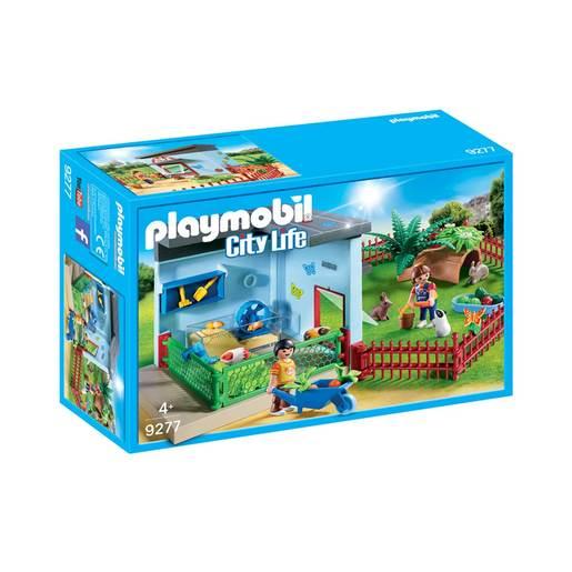 Playmobil 9277 City Life Small Animal Boarding With Hamster Wheel